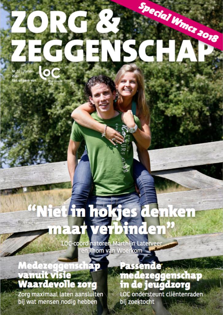 Voorpagina LOC-tijdschrift zomer