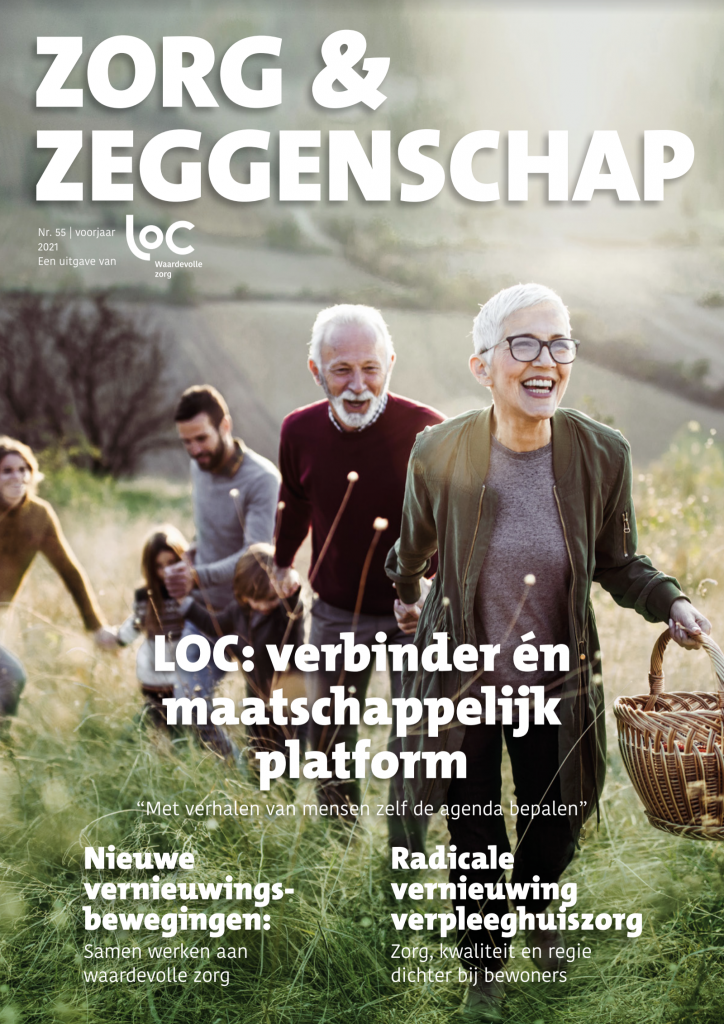 Voorpagina LOC-tijdschrift voorjaar '21